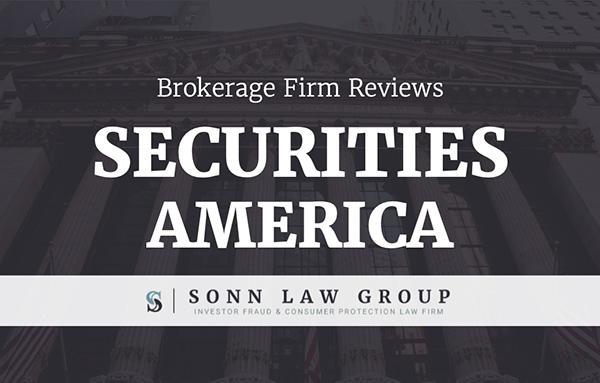 securities america complaints