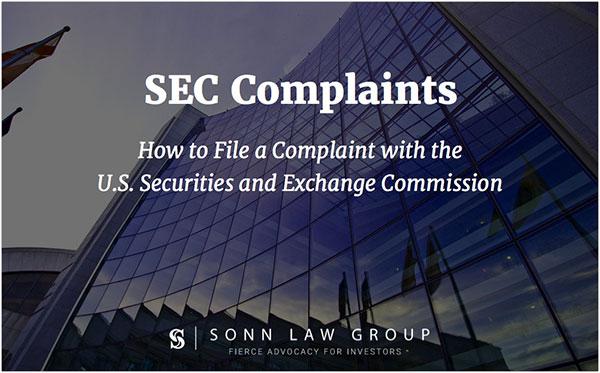SEC Complaints
