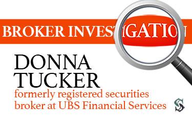 Donna Tucker formerly registered securities broker