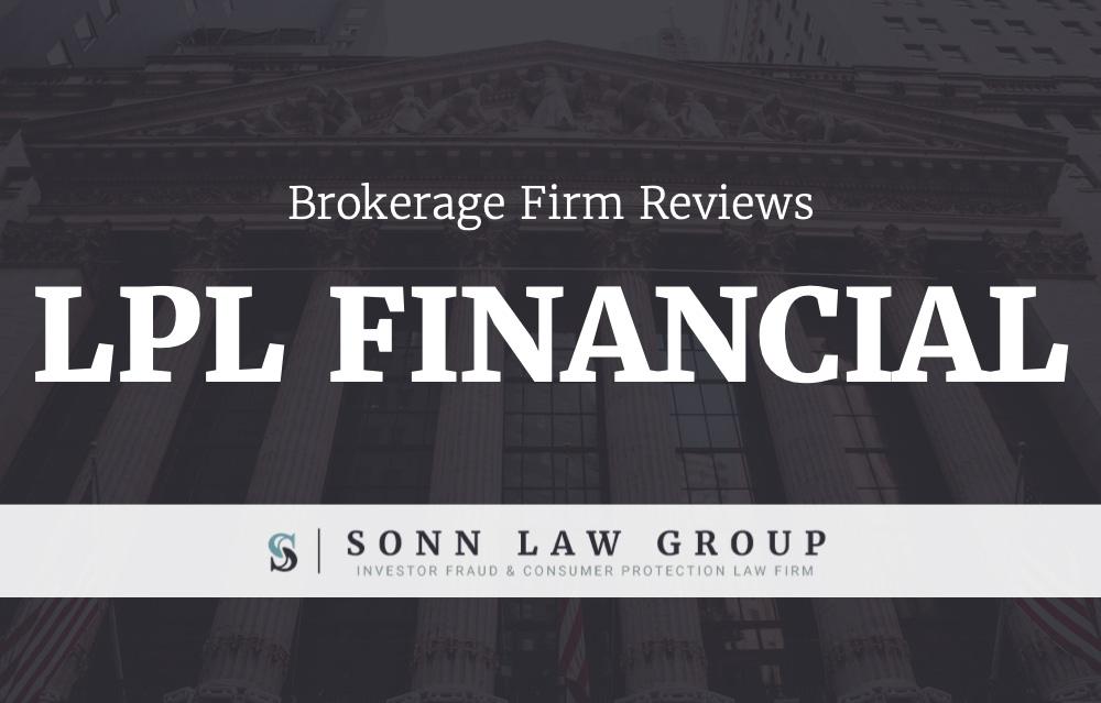 LPL Financial Complaints