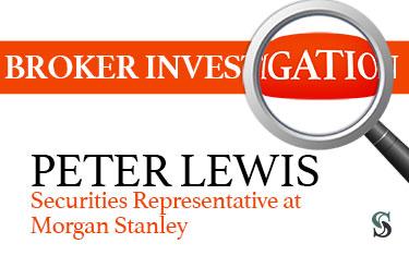 Peter Lewis Securities Representative at Morgan Stanley