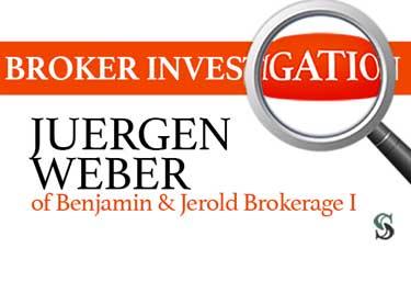 Broker Investigation: Juergen Weber