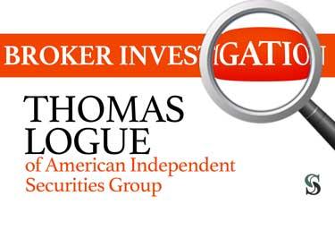Broker Investigation: Thomas Logue
