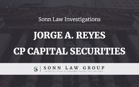 Broker Investigation- Jorge A. Reyes