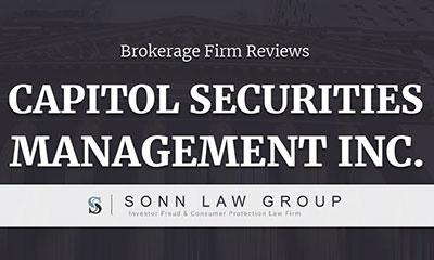 capitol-securities-management-inc-complaints