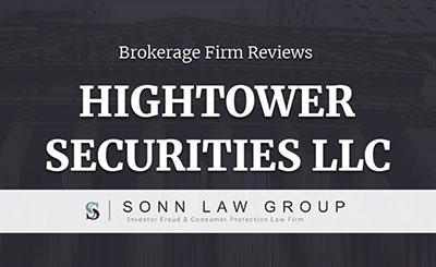 Hightower Securities LLC Complaints