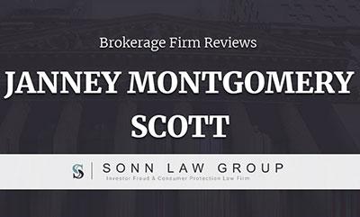 Janney Montgomery Scott Complaints