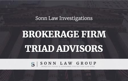 Brokerage Firm Triad Advisors