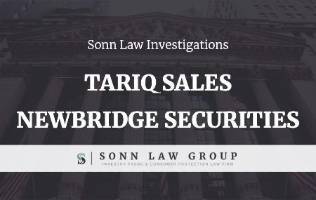 Sonn Law Tariq Sales