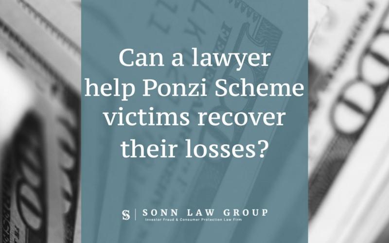 Ponzi Scheme Lawyer
