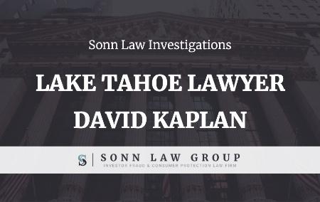 David Kaplan, Lake Tahoe Lawyer