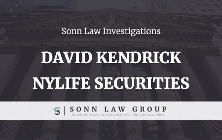 Sonn Law - Broker David Kendrick