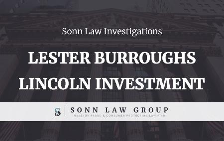 Sonn Law Broker Lester Burroughs