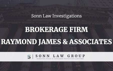 Sonn Law Brokerage Firm Raymond James & Associate