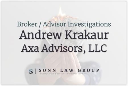 Andrew Krakaur - Axa Advisors, LLC