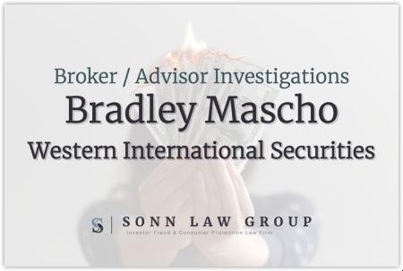 Bradley Mascho - Western International Securities
