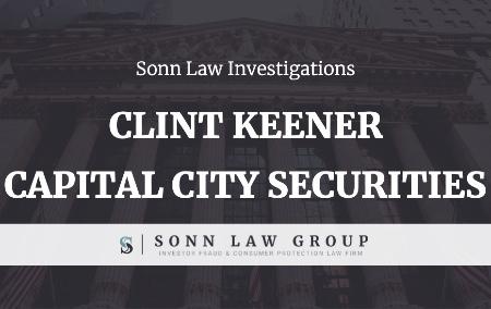 Clint Keener - Capital City Securities