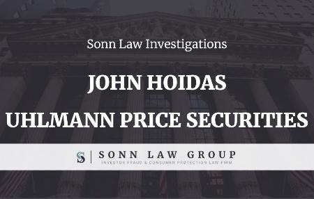John Hoidas - Uhlmann Price Securities