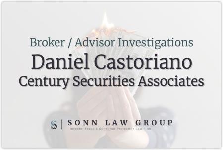 Daniel Castoriano - Century Securities Associates