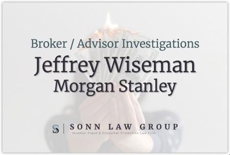 Jeffrey Wiseman - Morgan Stanley