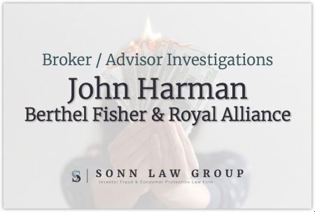 John Harman - Berthel Fisher and Royal Alliance
