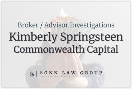 Kimberly Springsteen-Abbott - Commonwealth Capital Securities