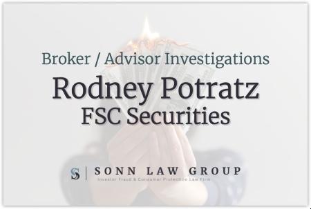 Rodney Potratz - FSC Securities