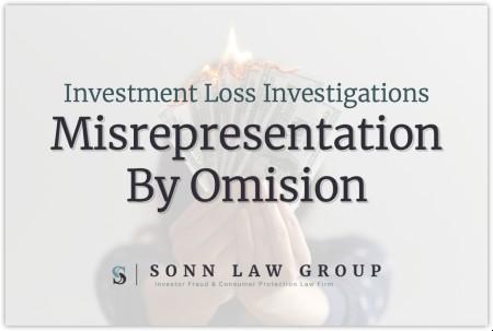 misrepresentation by omission
