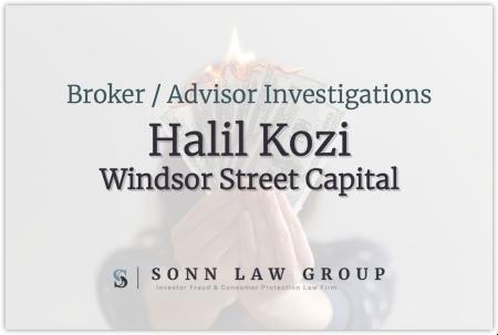 Halil Kozi - Windsor Street Capital