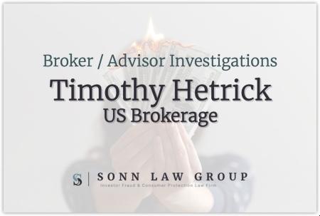 Timothy Hetrick - US Brokerage
