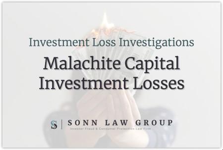 Malachite Capital Partners LP Investment Losses