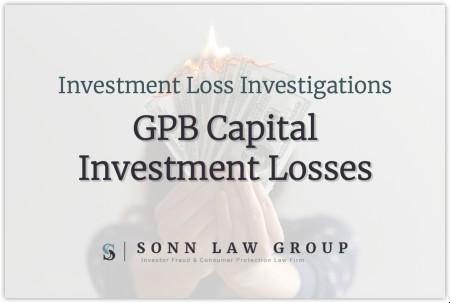 GPB Capital Inestment Losses