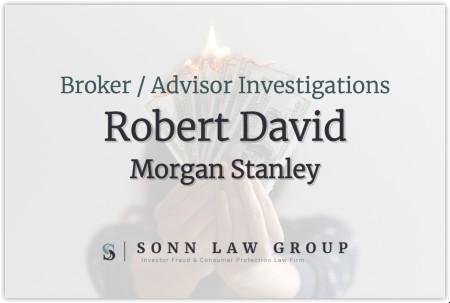 Robert David $1M in Customer Disputes