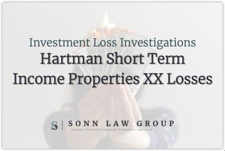 hartman-short-term-income-properties-xx-losses
